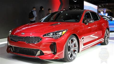 kia stinger  detroit auto show youtube