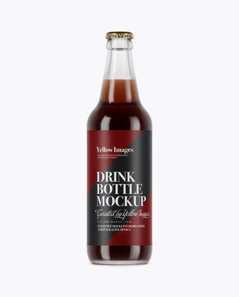 Free milk glass bottle mockup. Amber Glass Lager Beer Bottle Mockup - Green Glass Lager ...