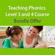 Teaching Phonics Level 3 And 4 Course Bundle  Oplex Careers  Course Deals
