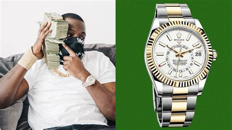 Bobby Shmurda Picked This Watch for His First Day Out | GQ