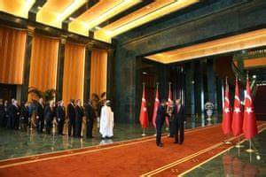 Auto Dynasty Lights Turkey 39 S New Presidential Palace Unveiled In Pictures