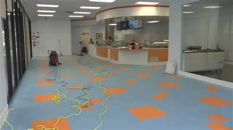 armstrong flooring application applying floor finish to a new vct floor youtube