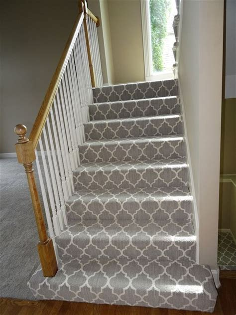 Striped Runner Rug by Patterned Carpet Carpets And Carpet On Stairs On Pinterest