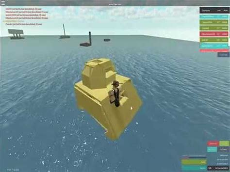 Whatever Floats Your Boat How To Build by How To Build A Submarine On Roblox Whatever Floats