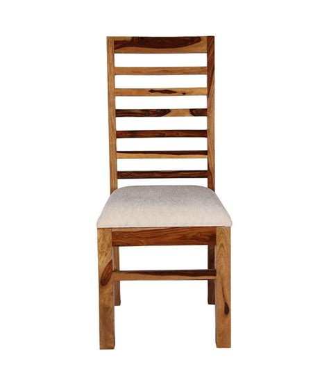 sheesham wood dining chair in brown buy at best