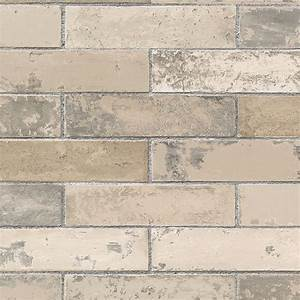 Norwall Swiss Brick Wallpaper