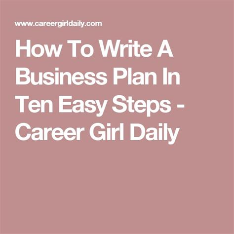 3 Business Plans Every Entrepreneuer Must 2 1000 Ideas About Writing A Business Plan On