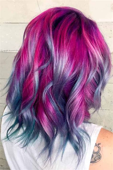 21 Loveliest Magenta Hair Color Ideas Lovely Hair Hair