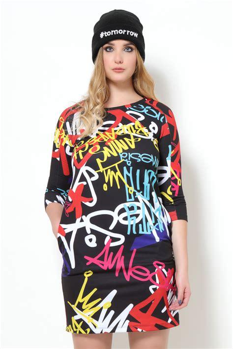 AMNESIA Darka ruha graffiti - Amnesia webáruház