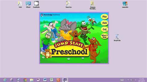 Jumpstart Preschool Windows 8 Installation