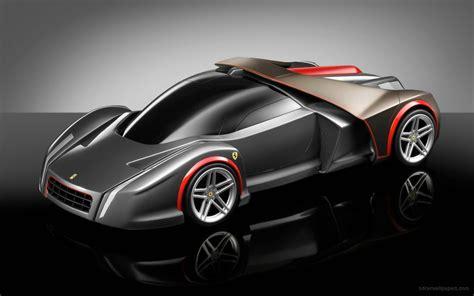 Ferrari Concept Black Wallpaper