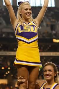 LSU College Football Cheerleaders