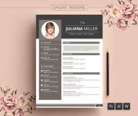 Resume Template Professional Modern Resume Template Free Cover Letter For Word Ai Psd Diy Printable 3 Pack The