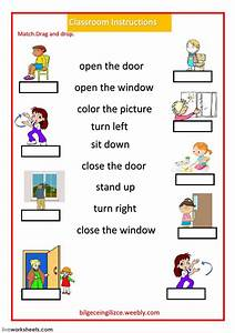 Classroom Language Interactive And Downloadable Worksheet