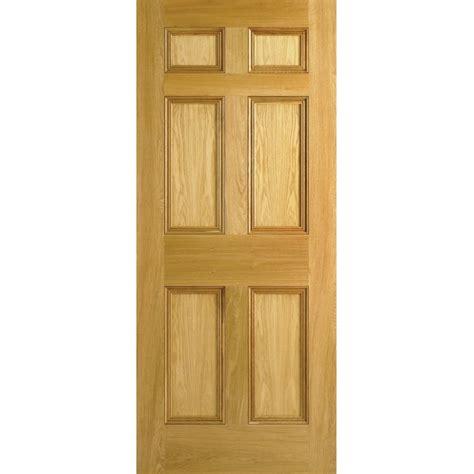 traditional oak internal door georgian  panel
