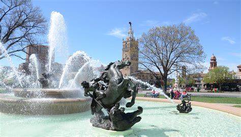 transitions restoredjc nichols memorial fountain