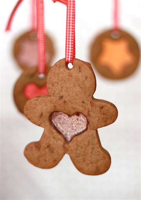 vintage frosted gingerbread embroidered felt cookie christmas ornaments 1000 images about gingerbread man on pinterest