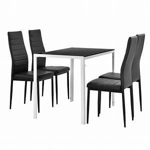 Küchentisch Und Stühle Günstig : esstisch schwarz wei ~ Bigdaddyawards.com Haus und Dekorationen