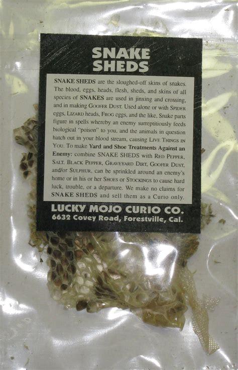 herb magic catalogue snake sheds