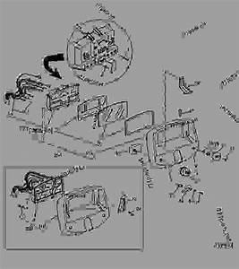 Instrument Panel - Tractor John Deere 5300