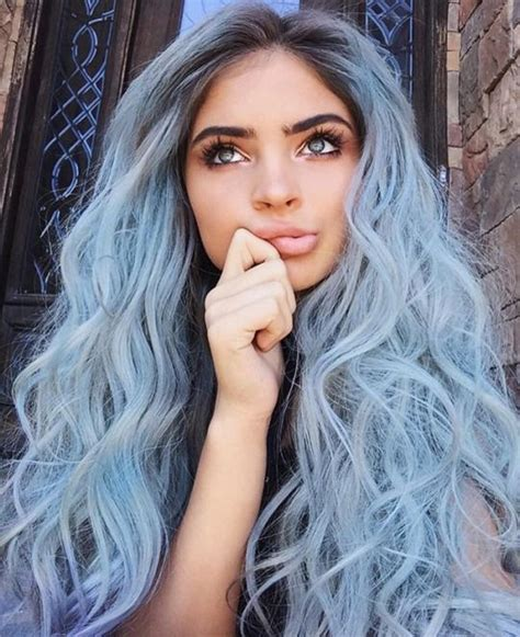 Hair And Blue by 35 Fresh New Light Blue Hair Color Ideas For Trendsetters