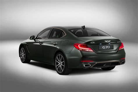 new genesis g70 germany s big 3 compact sport sedans carscoops