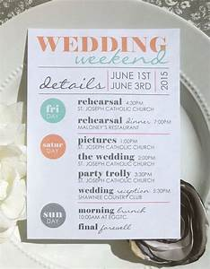 best 25 wedding weekend itinerary ideas on pinterest With wedding invitation printing queens ny