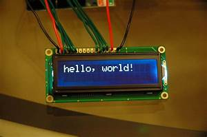 Hooking Up A Parallel Lcd To Arduino Uff5cmidnight Cheese