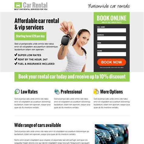 Best Rental Best Car Rental Business Service Responsive Lead