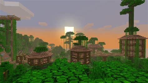 Jungle Treehouse Complex [map Download]  Survival Mode