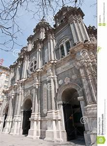 Catholic Church In Beijing Royalty Free Stock Photo ...