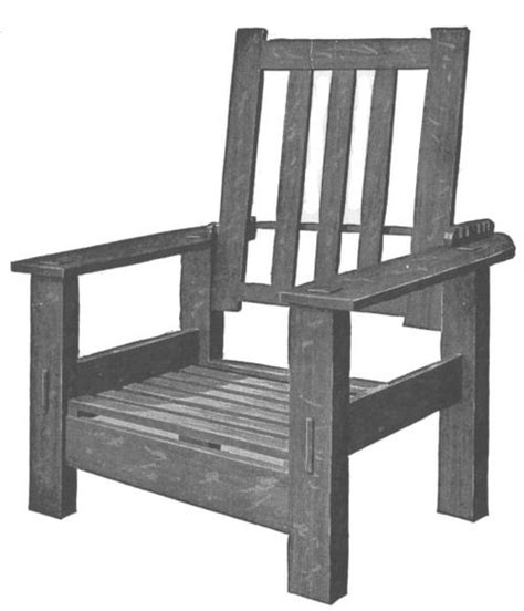 how to make a morris chair
