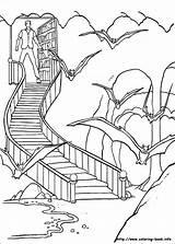 Coloring Batman Info Batcave Pages sketch template