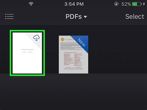view pdf on iphone 4 ways to read pdfs on an iphone wikihow