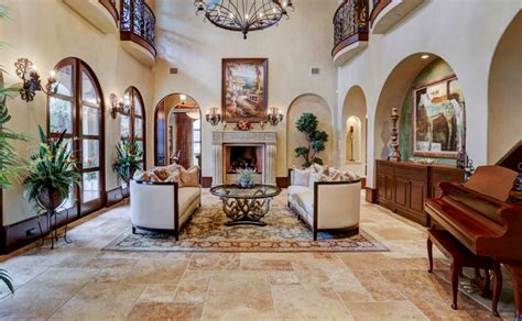 million spanish style mansion  houston tx homes