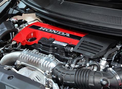 New Civic Type R Engine by Engine Bay Of The New Civic Type R Honda