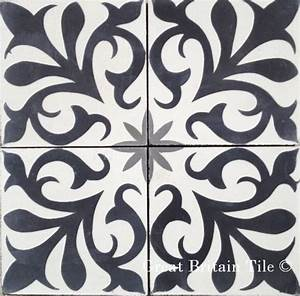 Cement tile patterns wall and floor tampa by
