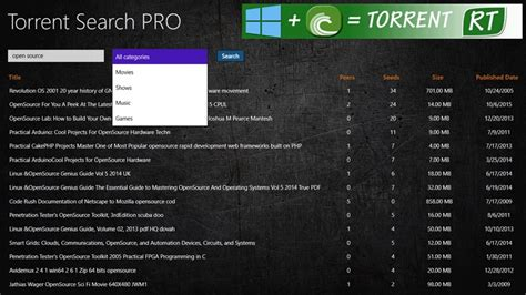 torrent search pro  windows