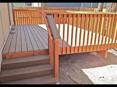 deck railing pictures stairs composite deck stair railinghow to install composite deck