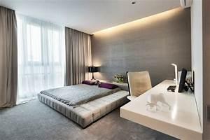 Schlafzimmer Leuchten Decke : modernes schlafzimmer mit abgeh ngter decke und led beleuchtung schlafzimmer pinterest ~ Sanjose-hotels-ca.com Haus und Dekorationen