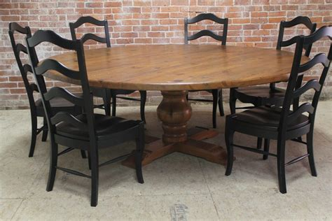 furniture large mahogany dining table large