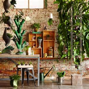 home garden interior design unique indoor garden ideas modern magazin