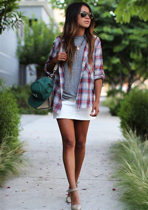 White Denim Skirts are Back for Summer | StyleCaster