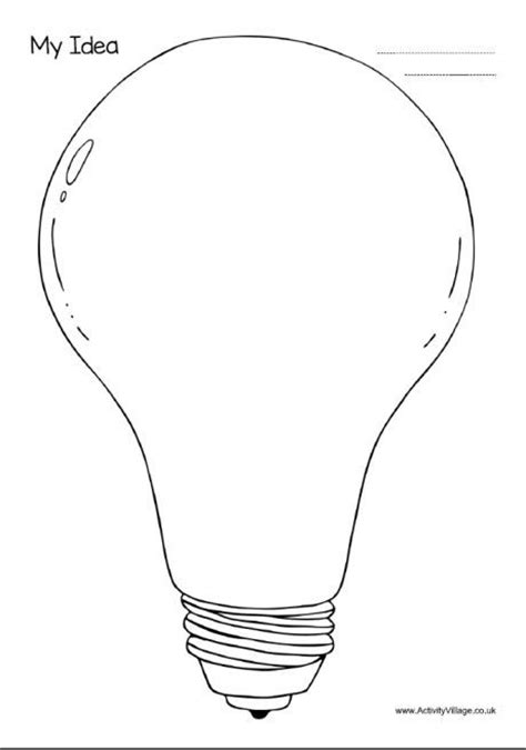 light bulb template 514 best images about blackline masters templates patterns on leaf template