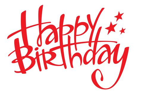 congratulations   birthday  red letters wallpapers