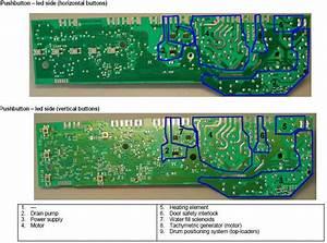 Zanussi Washing Machine Wiring Diagram Service Manual Error Code Circuit U2026