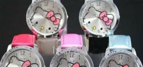 jam tangan hellokitty led black berlina