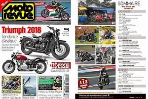 Moto Nouveauté 2018 : pr sentation moto revue 4061 les nouveaut s triumph 2018 motostation ~ Medecine-chirurgie-esthetiques.com Avis de Voitures