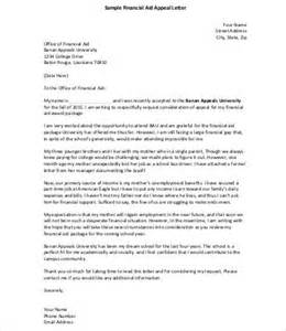 printable appeal letter