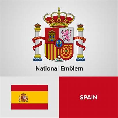 National Emblem Flag Vector Map Clipart